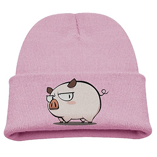 SHEAKA Cute Pig Live Baby's Knitted RunningCaps Pink For Autumn And Winter (Cute Halloween Pic)