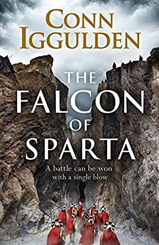 book cover of The Falcon of Sparta