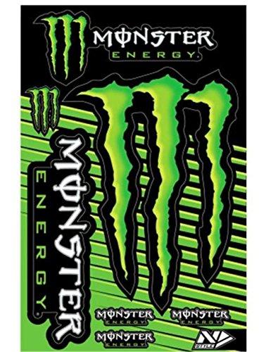 Monster Energy Decal - N-Style Universal Monster Sticker Kit