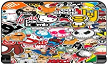 Popular Sticker Bomb New 3DS XL 2015 Vinyl Decal Sticker Skin by PersonalizedPrinting4u
