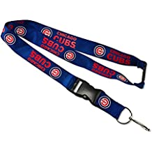 MLB Officially Licensed Chicago Cubs Breakaway Lanyard Key Chain