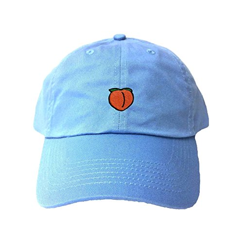 2796a84d Go All Out Adult Peach Embroidered Dad Hat | Weshop Vietnam