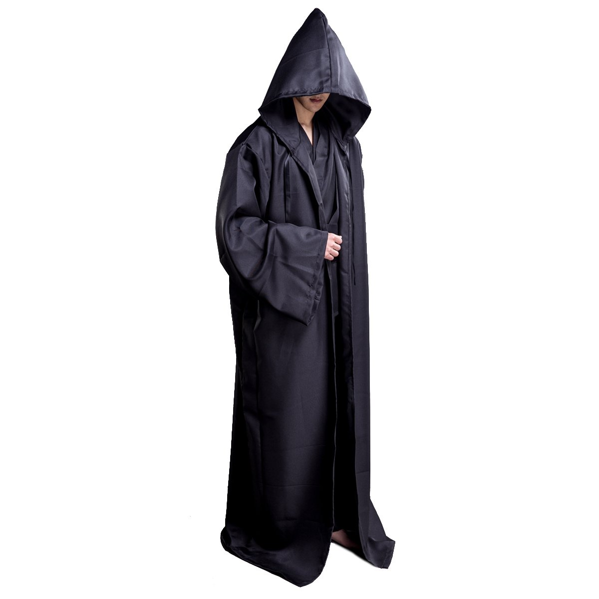 Qkpar Hooded Robe Cloak Knight Cosplay Costume Cape CEOAMZUSMCUS_MC-991_1