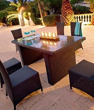 Table et chaises Hespéride BARBADOS: Amazon.fr: Cuisine & Maison