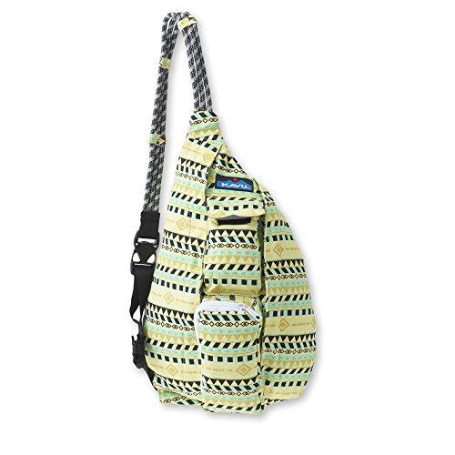 KAVU Mini Rope Bag, Gold Belt, One Size -