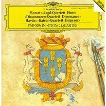 Mozart: Jagd-Quartett / Dissonanzen Quartett - Haydn: Kaiser Quartett / Emperor