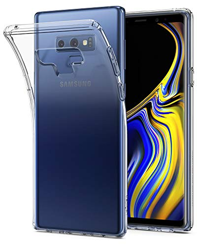 Spigen Liquid Crystal Galaxy Note 9 Case with Slim Protection and Premium Clarity for Galaxy Note 9 (2018) - Crystal Clear