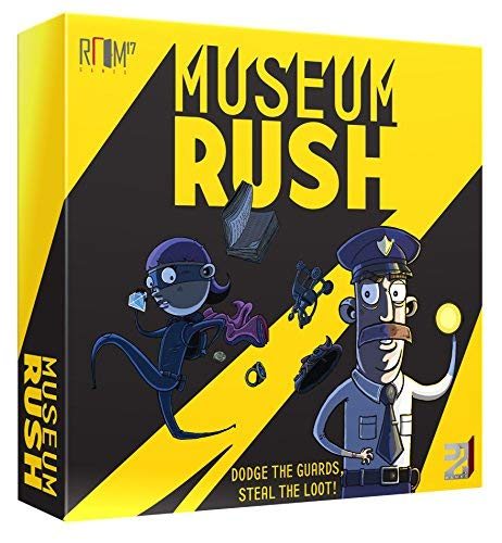(Room 17 R17D2W001 Museum Rush, Mixed Colours)