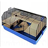 Excellent Top Quality Cage - W/ Complete Set Of Accessories - Suitable For Hamsters, Mice, Gerbils And Other Small Pets