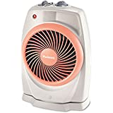 Holmes HFH421NU ViziHeat 1500W Power Heater & Fan, Plastic Case, 9 1/4 x 6 3/8 x 13 3/4, White