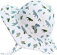 Jan & Jul Toddlers Kids Cotton Floppy Summer Sun Hat for Boys, UPF 50+ Protection, Adjust