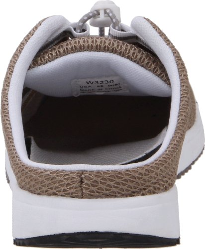 Propet Femmes Travelwalker Diapositive Chaussure Taupe Maille