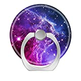 Pop Phone Ring Stand Holder 360 degree Rotation Reusable Ring Holder Finger Grip Universal socket Kickstand for iPhone X 6 6s 7 7 Plus 8 8Plus Galaxy S8 S7 Edge - Purple Ombre
