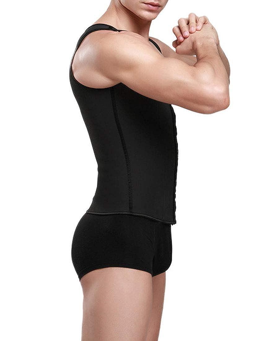 NatrE Mens Multifunction Lose Weight Waist Trainer Vest Caloric Burner Shaper Shapewear