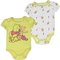 "Winnie the Pooh Infant Baby Girls ""Life is Sweet"" Creeper Onesie Bodysuit, 2-..."