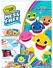 Crayola 757103 Color Wonder Mess Free Coloring Set, 18 Pieces