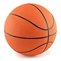 "7"" Mini Rubber Youth Basketball - Kids Basketball For Indoor Or Outdoor Playground Hoops - Great Grip - By Edgewood Toys"
