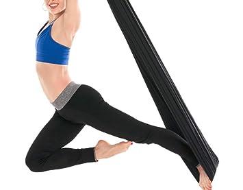 Mitef Deluxe - Juego de Hamaca para Yoga (Seda), L400xW280cm ...