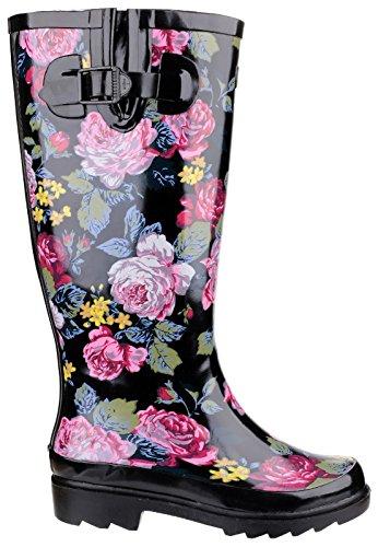 Rain Women impermeabili Boots Slip Cotswold Scarpe Rosefest On HzqEEw1