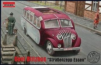 Roden Opel Blitzbus 'Straßenzepp Essen' Military Bus Model Kit, Cars