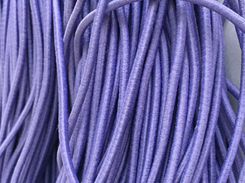 Kourtney's Crafts Lavender Elastic Stretch Shock Cord 3mm 20 yards 18 meter