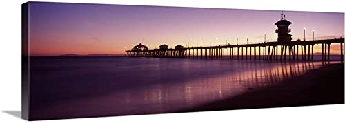 Pier Canvas Wall Art