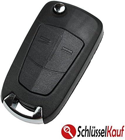 Konikon Autoschlüssel Schlüsselgehäuse Klappschlüssel Elektronik
