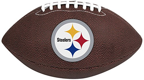 Rawlings Official NFL Air It Out Gametime Football, Youth Size, Pittsburgh Steelers