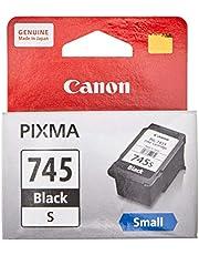 Canon PG-745S New Printer Ink Cartridge, Black