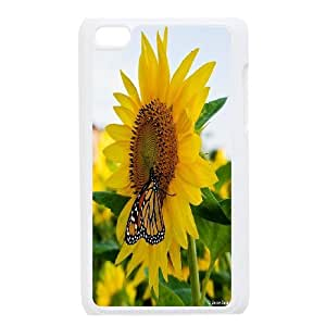 High Quality {YUXUAN-LARA CASE}Sunflowers in The Sun FOR IPod Touch 4th STYLE-20