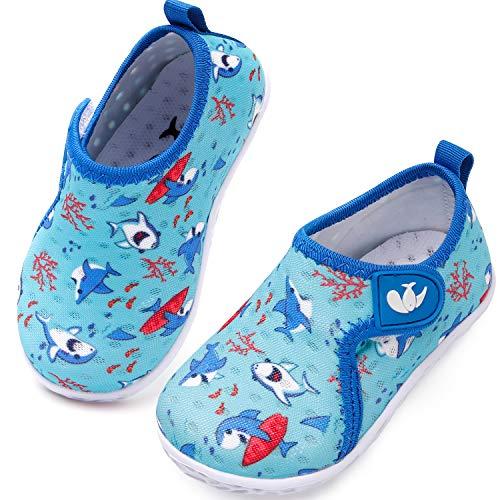 JIASUQI Baby Boys Girls Barefoot Swim Pool Water Shoes Beach Walking Sandals Athletic Fashion Sneakers