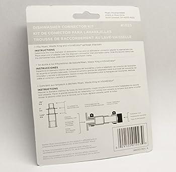 Waste King Garbage Disposal Dishwasher Connector Kit - 1023 2