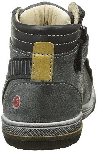 GBB Nabil - Zapatillas de deporte Niños Gris - Gris (11 Vte Anthracite/Jaune Dpf/Manbo)