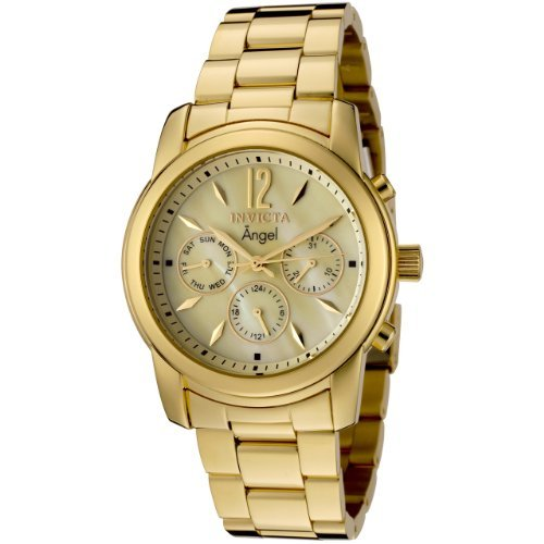 Invicta Women's 0466 Angel Collection 18k Gold-Plated Stainl