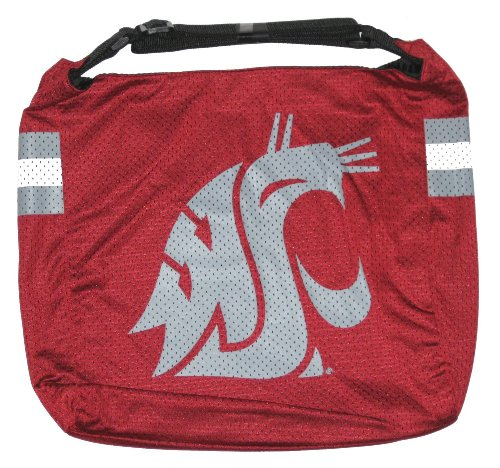 Washington State Cougars NCAA Veteran Jersey Tote Purse ()