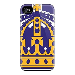 Iphone 4/4s QXZ13332LhIa Allow Personal Design Lifelike Los Angeles Kings Pictures Perfect Hard Cell-phone Case -CharlesPoirier
