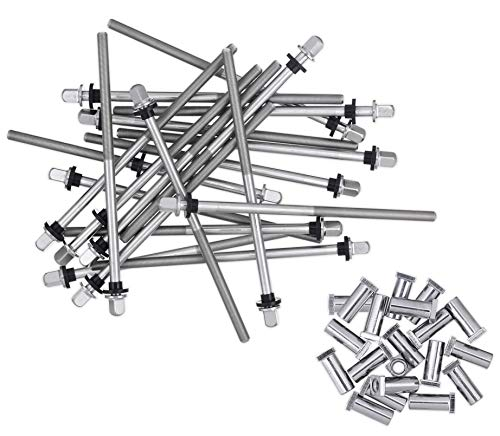 DW True Pitch Bass Drum Tension Rods (20-pack) 20 Pack