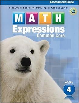Houghton Mifflin Harcourt Math Grade 4 Worksheets - Worksheets