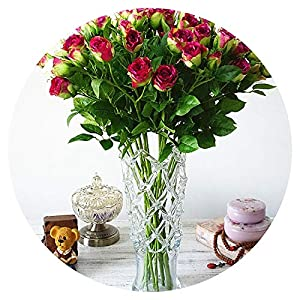 4 Branchs Rose Bud Artificial Flowers for Wedding Simulation Flower Home Vase Hotel Props Party Decor Valentine's Gift 36
