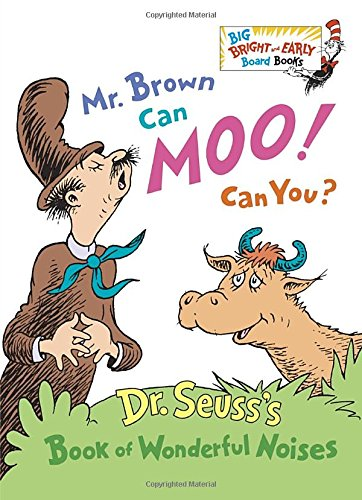 Mr. Brown Can Moo! Can You? (Big Bright & Early Board Book)