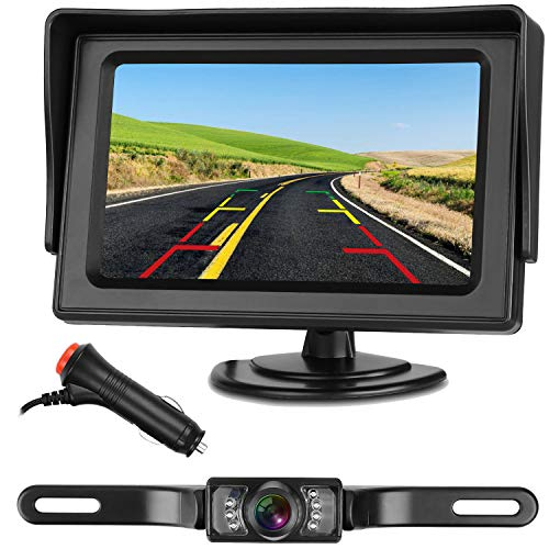 Car Rear View Reversing Camera - Emmako Backup Camera and 4.3