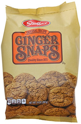 Stauffer Cookie Ginger Snap, Original, 14 oz ()