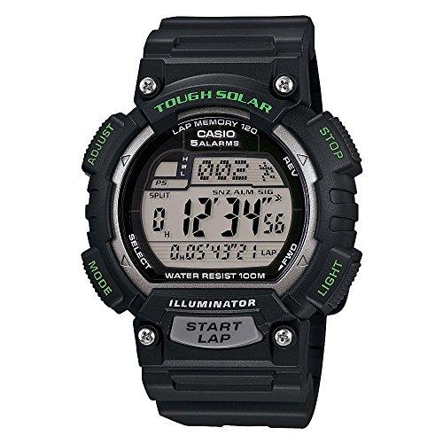 Casio Men's STL-S100H-1AVCF Tough Solar Runner Black Watch Casio