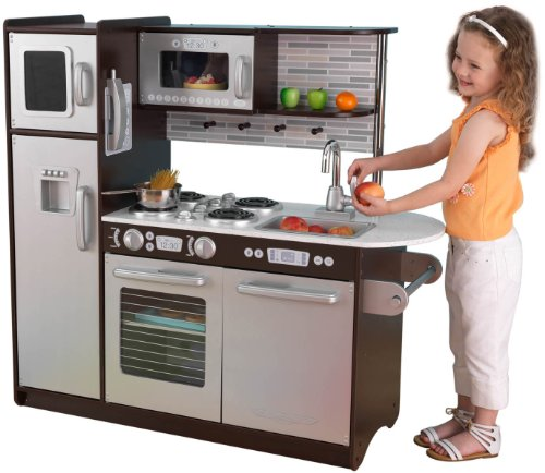 KidKraft Uptown Espresso Kitchen | Compare Prices, Set Price Alerts, and  Save with GoSale.com