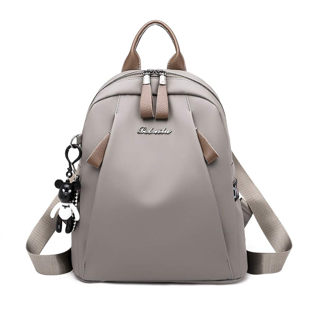 DONYKARRY Women Backpack Purse Anti-Theft Rucksack, High Capacity Waterproof Nylon Lightweight School Shoulder Bag Ladies Fashion Backpacks