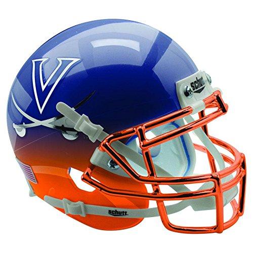 Virginia Cavaliers Navy Featherhead Officially Licensed XP Authentic Football Helmet