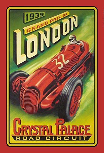 Cartel de Chapa genérico, 20 x 30 cm, diseño de Londres ...