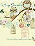 Start Planning for Christmas early with a keepsake holiday wish list planner, journal and personal notebook. Use the lined pages to create journal entries about the holidays, record precious memories or write whatever comes to mind.  Notebook / Journ...