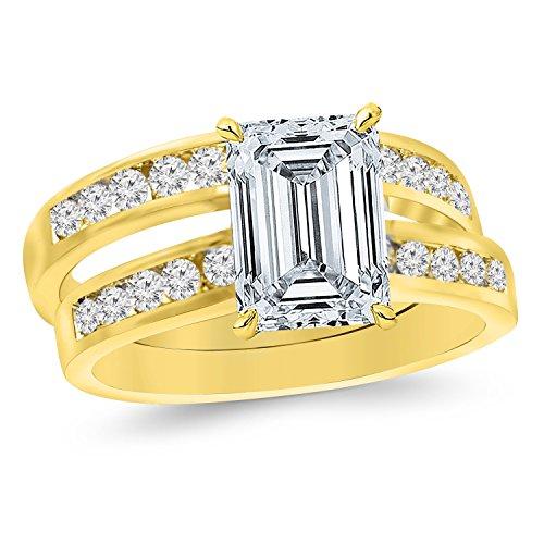 0.68 Ct Emerald Cut Diamond - 9