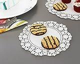 Lace Doilies Paper - 150-Piece Round Decorative